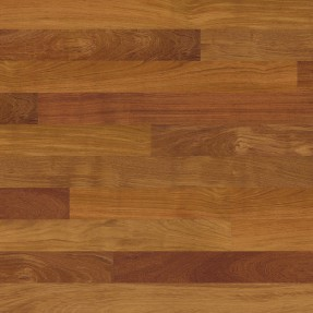 Ter Hürne Jatoba Red Brown Solid Wood Plank Floor Even Lacquered