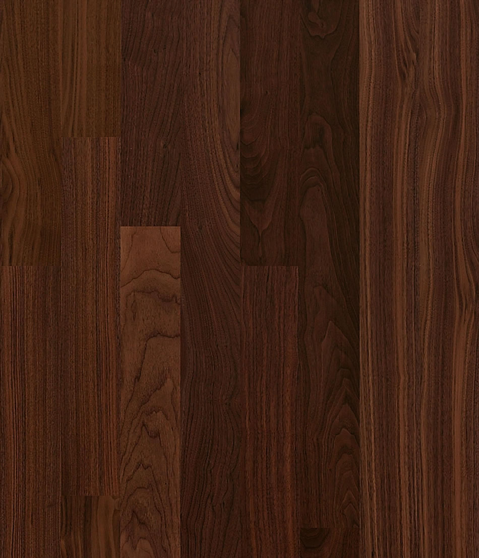 Solid american black walnut the hardwood flooring co for Black hardwood flooring