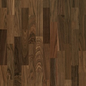 Kahrs Walnut Montreal - 3-strip Satin Lacquer Finish