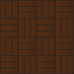 Square Basket Parquet Flooring Pattern