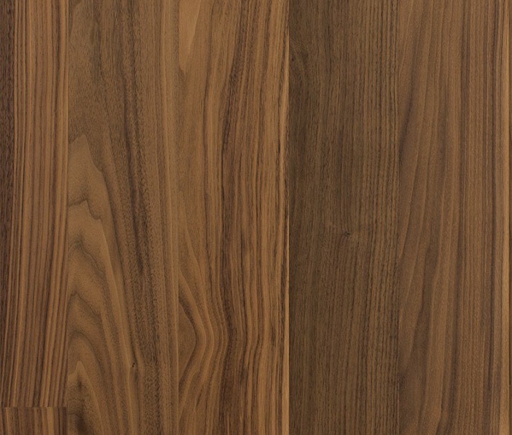 Kahrs Walnut Cocoa - 1-strip Satin Lacquer Finish