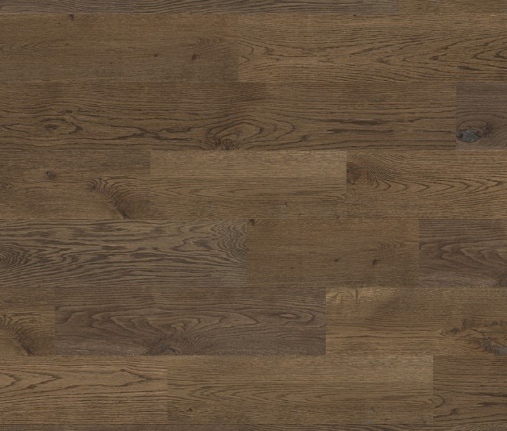 Ter Hürne Oak European Antique Deep Brown – Solid Wood Plank